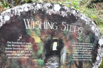 Wishing Steps at Blarney Castle, Ireland